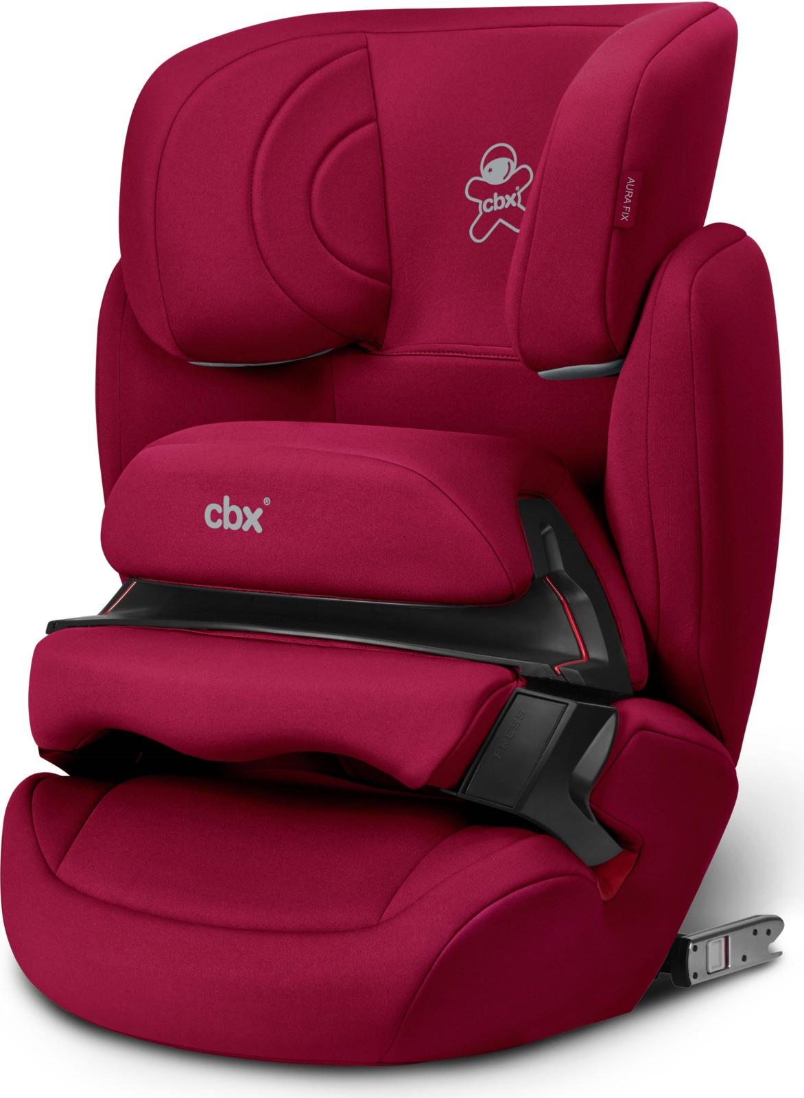Автокресло CBX Aura-Fix, цвет: красный, от 9 до 36 кг