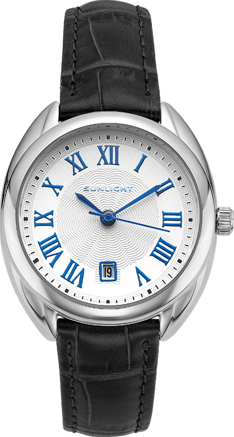 Часы наручные женские Sunlight, цвет: черный. S308ASW-11LB все цены