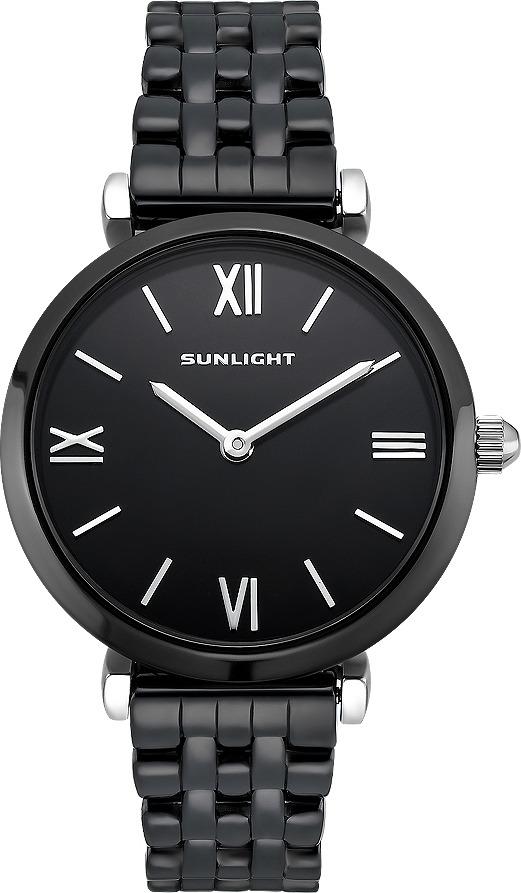 Часы наручные женские Sunlight, цвет: черный. S323CBZ-02BC все цены