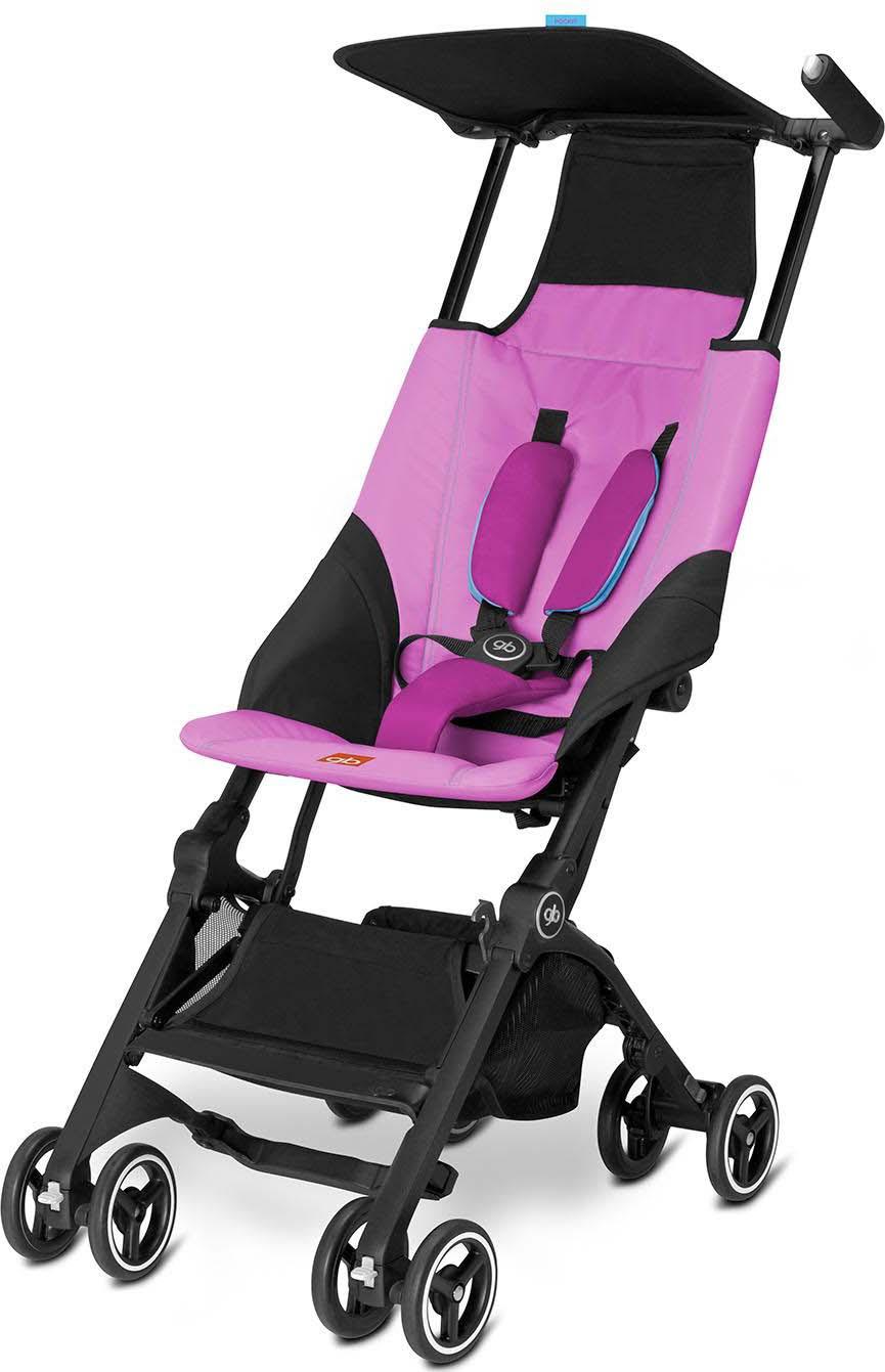Коляска прогулочная GB Pockit, цвет: розовый коляска прогулочная gb pockit lizard khaki