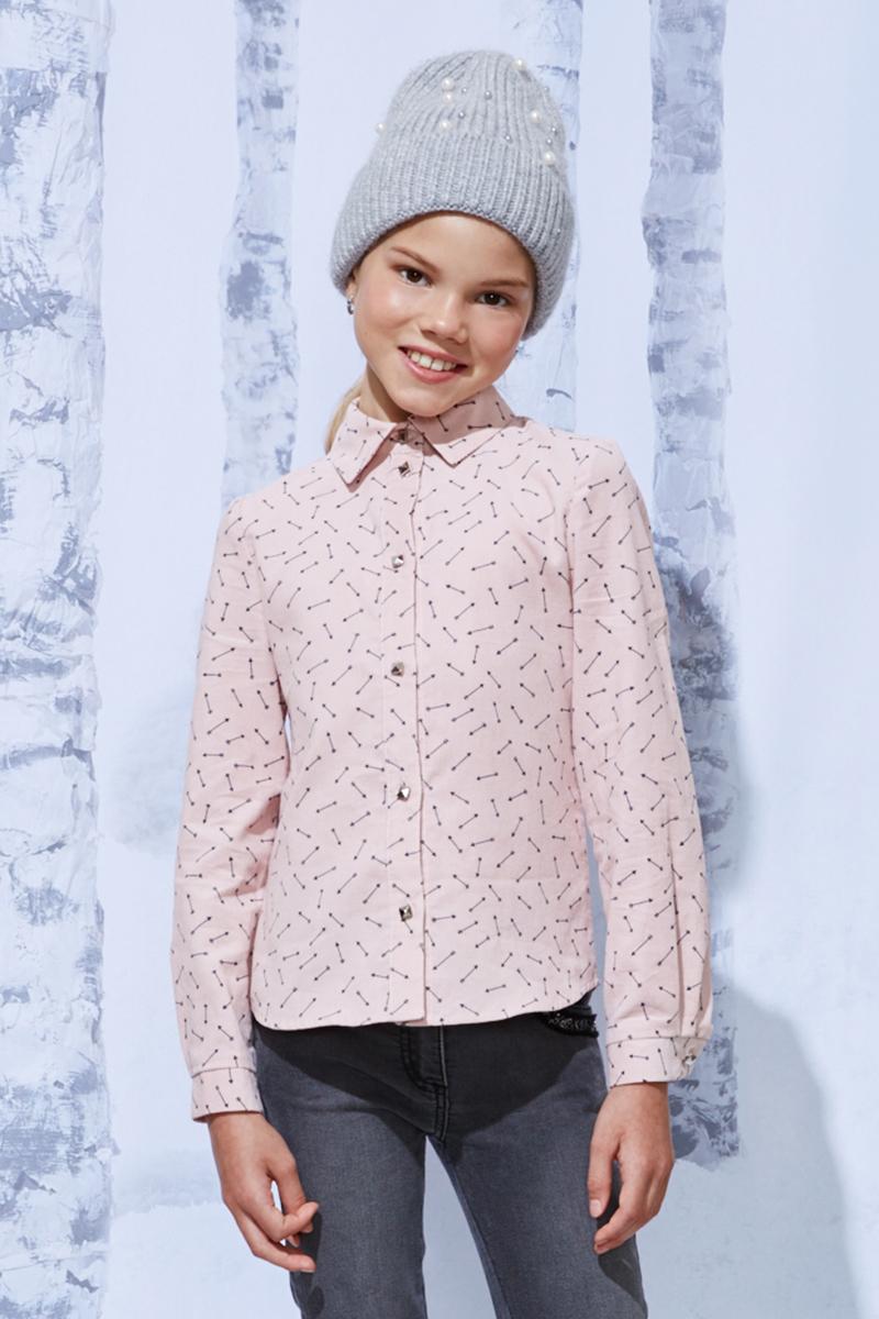 Блузка Смена пиджак с отложным воротником b young