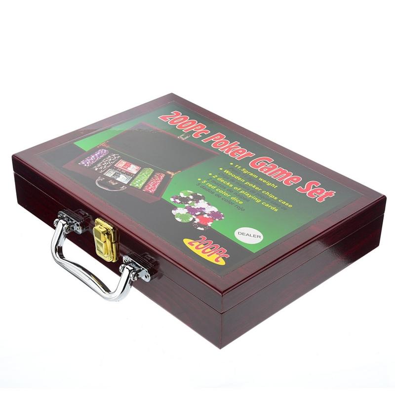 Набор для покера Partida Wood на 200 фишек набор для покера partida compas на 300 фишек