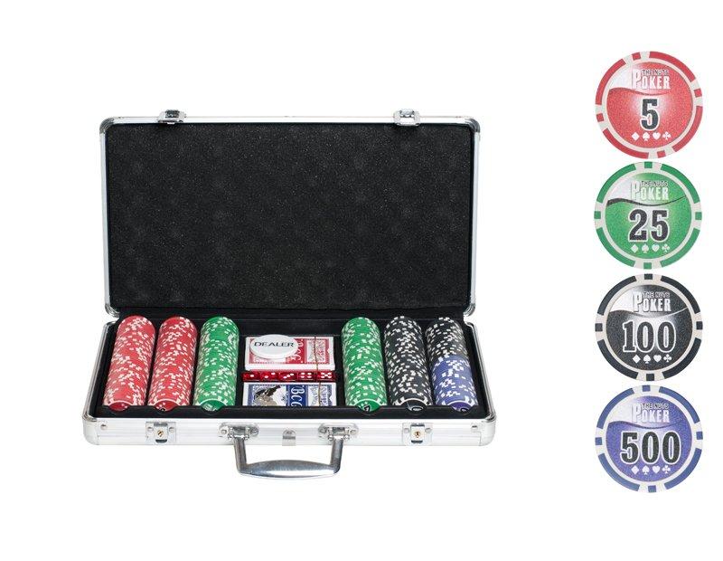 Набор для покера Partida NUTS на 300 фишек фишки для покера с номиналом 11 5 г 25 штук