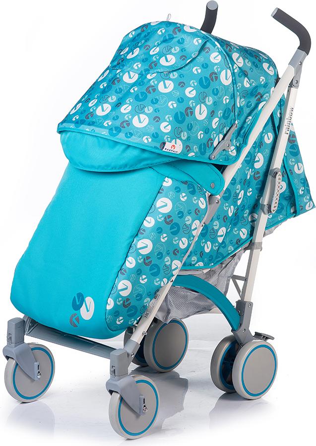 Коляска прогулочная BabyHit Rainbow LT, цвет: серо-голубой