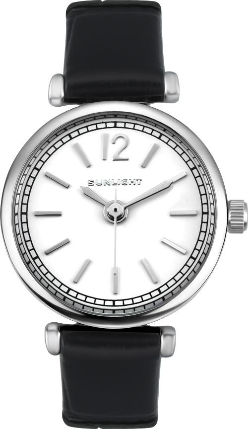 Часы наручные женские Sunlight, цвет: черный. S233ASW-01LB все цены