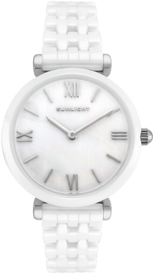 Часы Sunlight наручные белый все цены