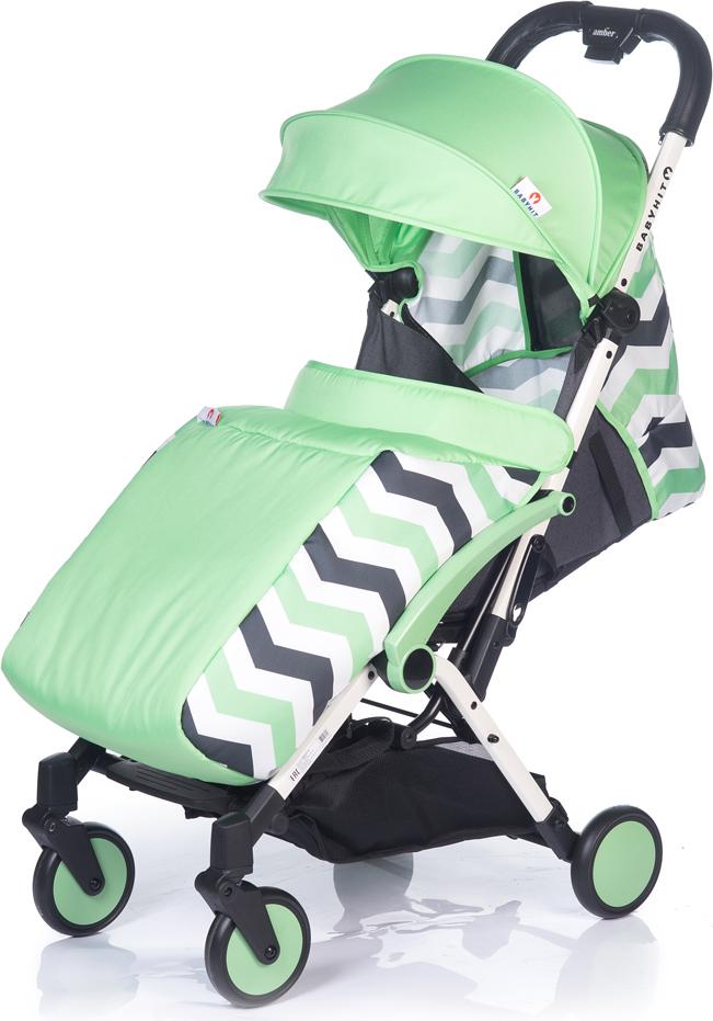 Коляска прогулочная BabyHit Amber Plus, цвет: зеленый коляска 2 в 1 babyhit evenly plus темно зеленый evenly plus dark green