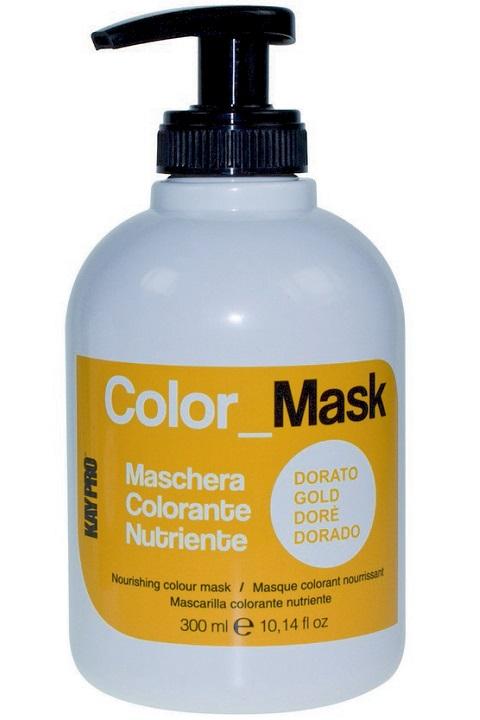 Питающая окрашивающая маска KayPro, цвет: золото, 300 мл