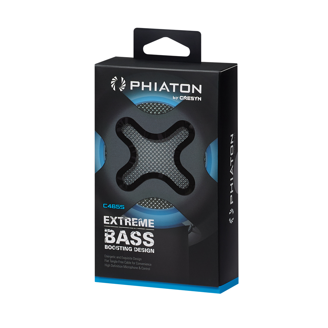 Наушники Phiaton by Cresyn C465S mic, Blue