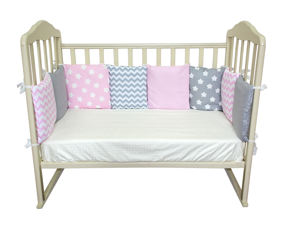 Комплект в кроватку Soft Story Комплект бамперов в кроватку