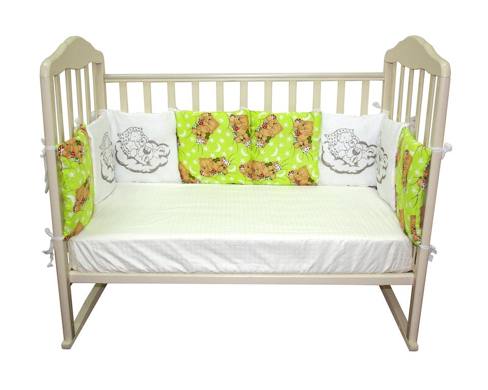 Комплект в кроватку Soft Story Комплект бамперов в кроватку цена