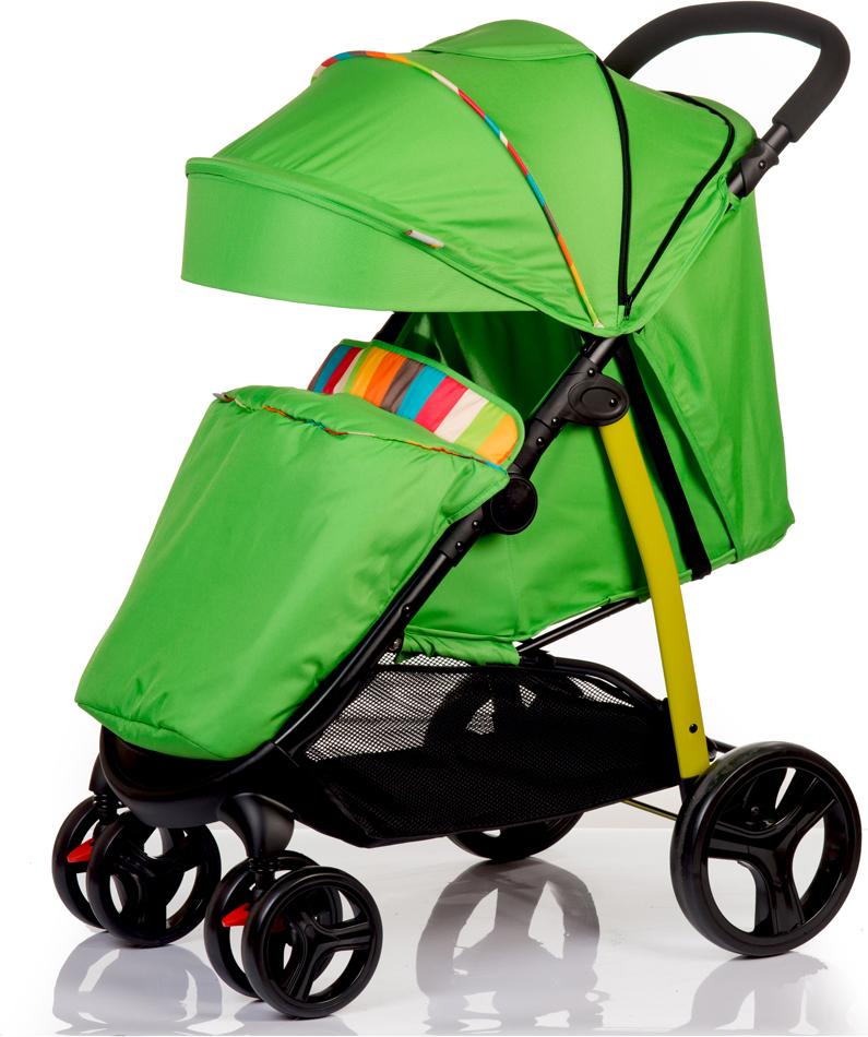Коляска прогулочная BabyHit Racy, цвет: зеленый