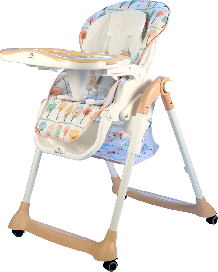 Стульчик для кормления BabyHit Miracle, цвет: кремовый babyhit babyhit стульчик для кормления miracle серый