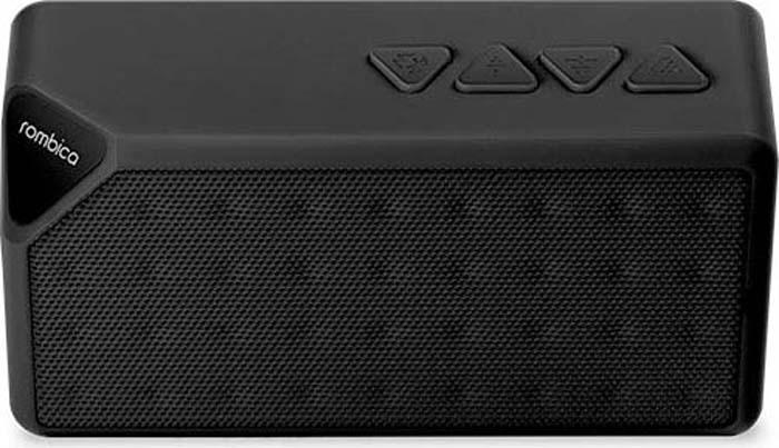 Портативная акустика Rombica Mysound BT-01 3C, Black rombica mysound bt 03 3c pink портативная акустическая система