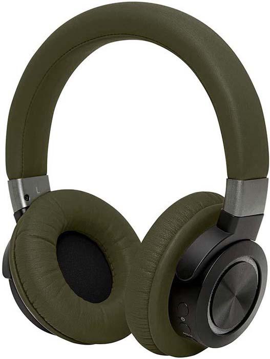 Беспроводные наушники Rombica Mysound BH-07, зеленый наушники rombica mysound bh 03 1c серый