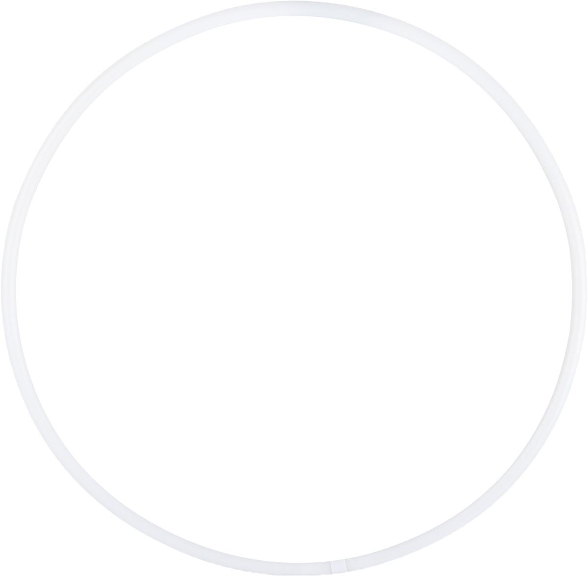 Обруч для художественной гимнастики Amely AGO-101, диаметр 85 см, цвет: белый обруч пластмастер 40040 диаметр 50 см цвет в ассортименте