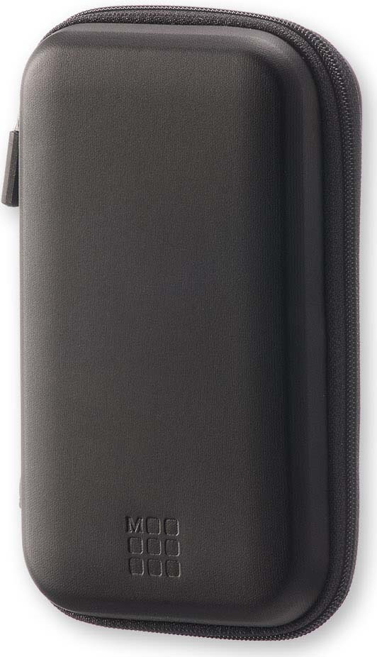 Чехол для путешествий Moleskine Journey Pouch Small, с ремешком на запястье, цвет: черный, 9 х 14,2 x 3,2 см
