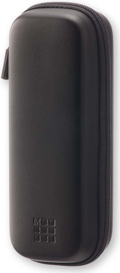 Чехол для путешествий Moleskine Journey Pouch Pen, с наплечным ремешком, цвет: черный, 6 х 17 x 4,5 см