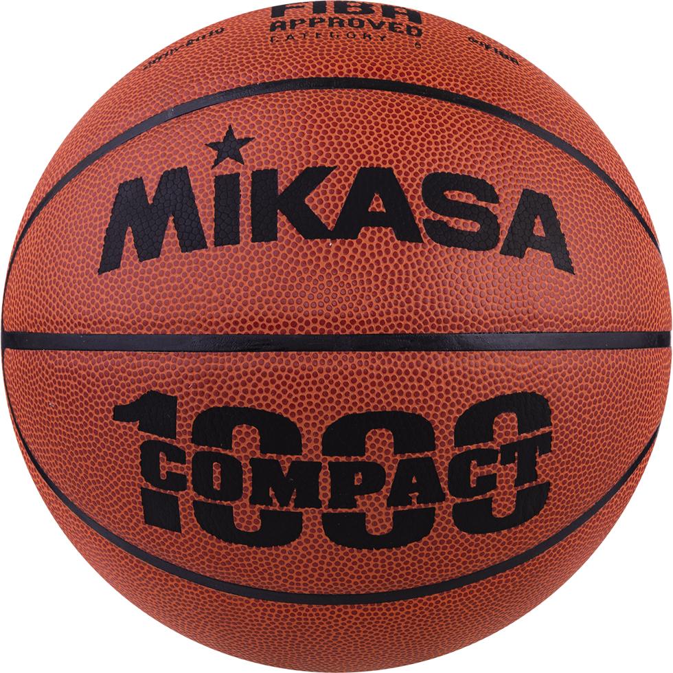 Мяч баскетбольный Mikasa BQC, цвет: оранжевый, черный, размер 6 мяч баскетбольный mikasa 1020 р 7 8 панелей
