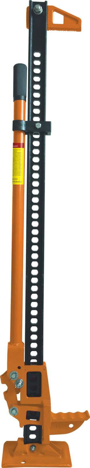 Фото - Реечный домкрат Кратон HJ-2,7-1200, оранжевый, высота подъема 102 см домкрат avs hj b10000 10т 236 476мм
