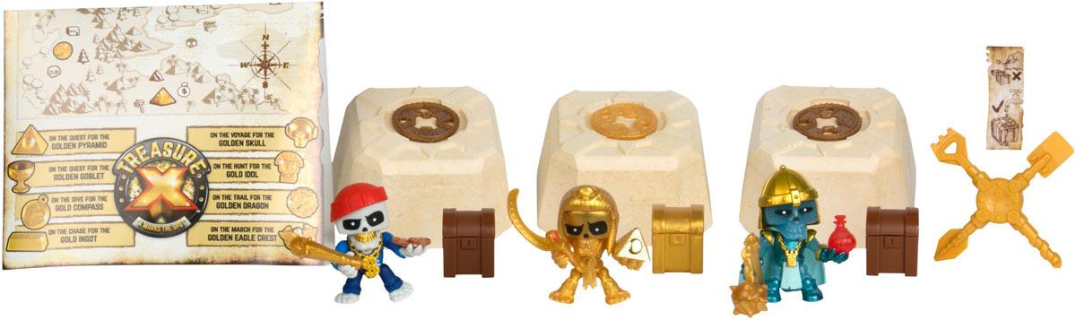 Мега набор Treasure X В поисках сокровищ фигурки героев мультфильмов moose treasure x золото драконов 41507