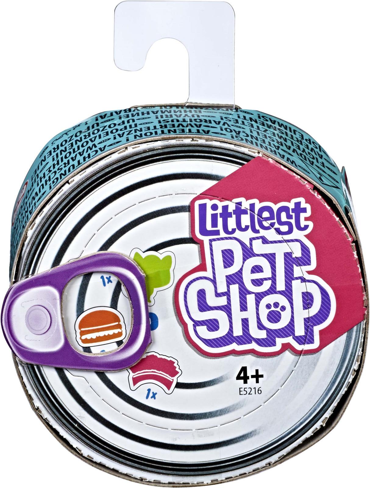 Фигурка Littlest Pet Shop Пет в консервной баночке littlest pet shop littlest pet shop 2 радужных пета