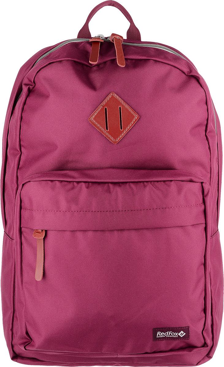Рюкзак детский городской Red Fox Bookbag L1, цвет: бордовый, 30 л red fox рюкзак compact 17