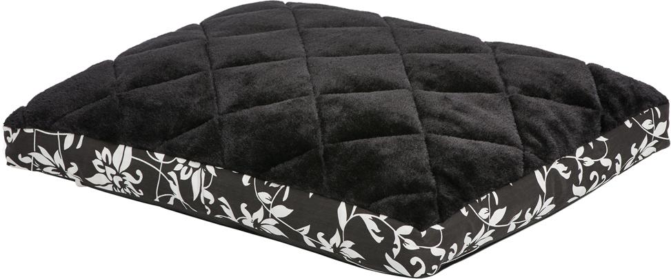 Лежак для животных MidWest Sofia, цвет: черный, белый, 61 х 46 см