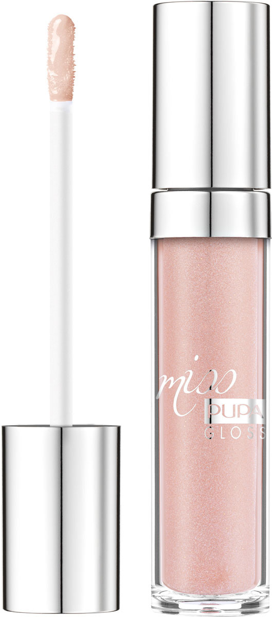 Блеск для губ Pupa Miss Pupa Gloss, оттенок №102, 5 мл pupa miss pupa цвет 102 candy nude variant hex name d2717a вес 10 00