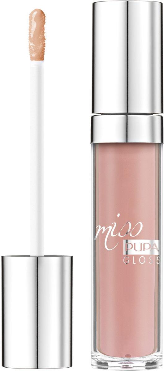 Блеск для губ Pupa Miss Pupa Gloss, оттенок №103, 5 мл barbie блеск для губ little miss детский оттенок прозрачный 2 мл