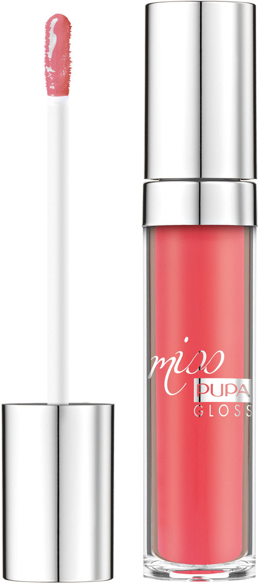 Блеск для губ Pupa Miss Pupa Gloss, оттенок №204, 5 мл barbie блеск для губ little miss детский оттенок прозрачный 2 мл