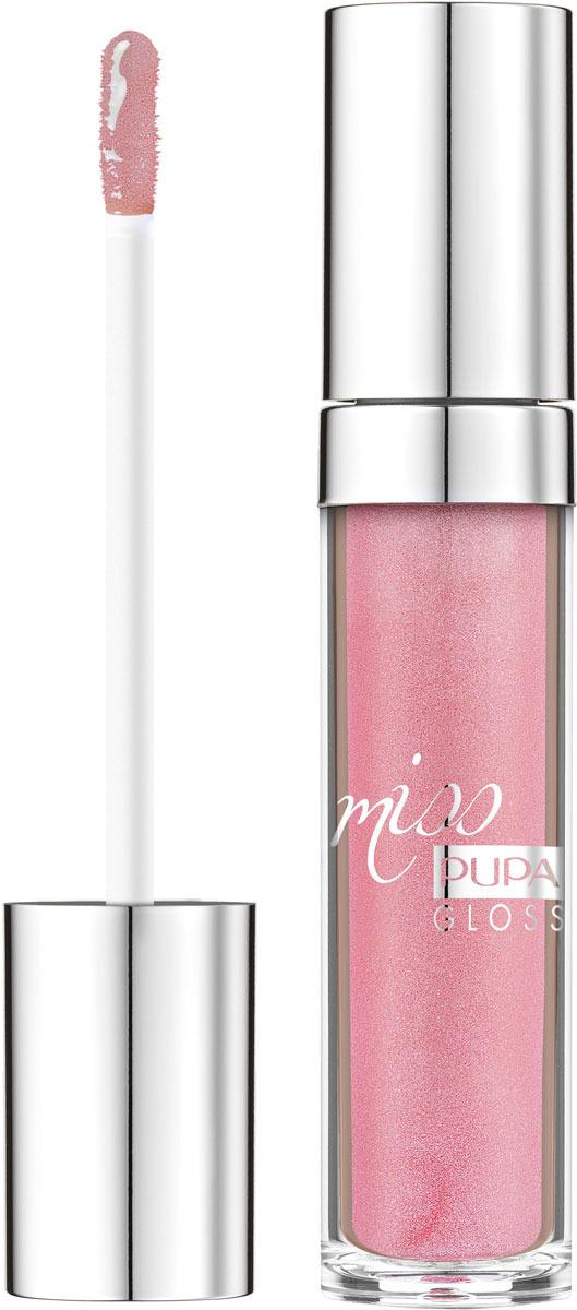 Блеск для губ Pupa Miss Pupa Gloss, оттенок №301, 5 мл barbie блеск для губ little miss детский оттенок прозрачный 2 мл