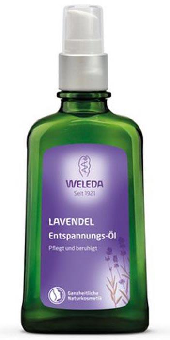 Масло расслабляющее Weleda с лавандой, 100 мл