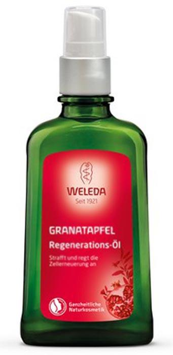 Фото - Масло для тела Weleda восстанавливающее гранатовое, 100 мл гранатовое восстанавливающее молочко для тела 200 мл weleda гранатовая линия