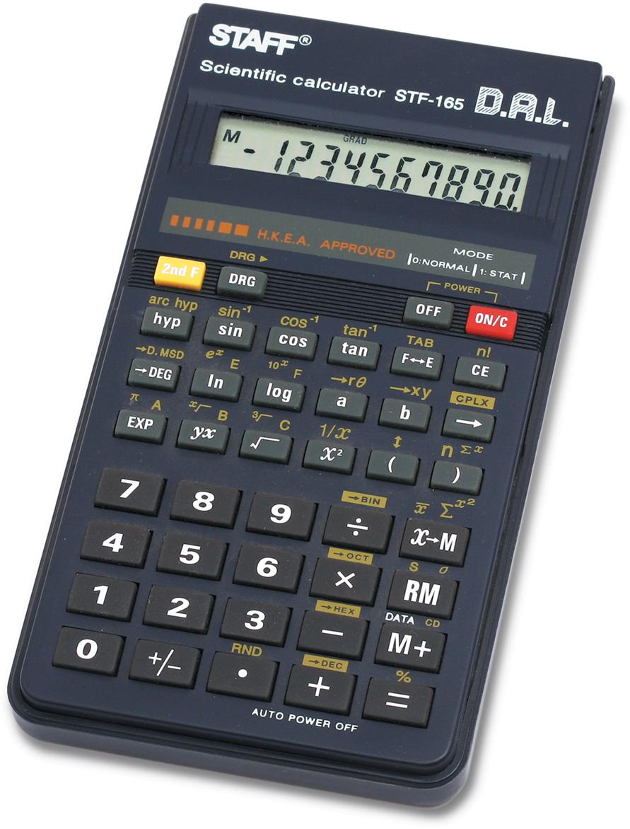 Калькулятор инженерный Staff STF-165 калькулятор staff stf 310