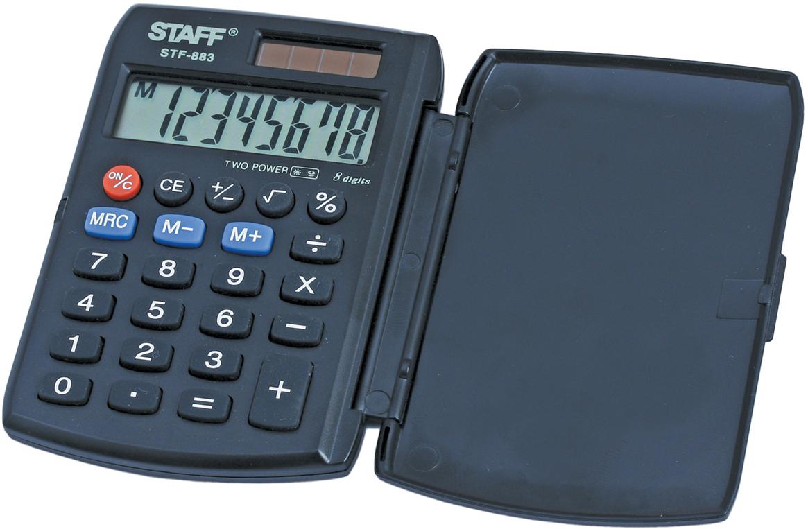 Калькулятор карманный Staff STF-883 канцелярия staff калькулятор карманный stf 6238