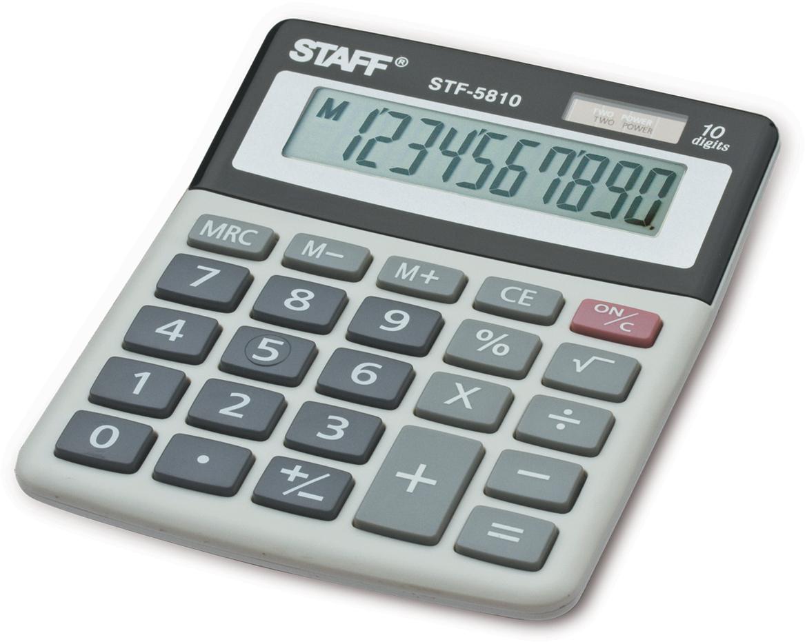 Калькулятор настольный Staff STF-5810 канцелярия staff калькулятор карманный stf 6238