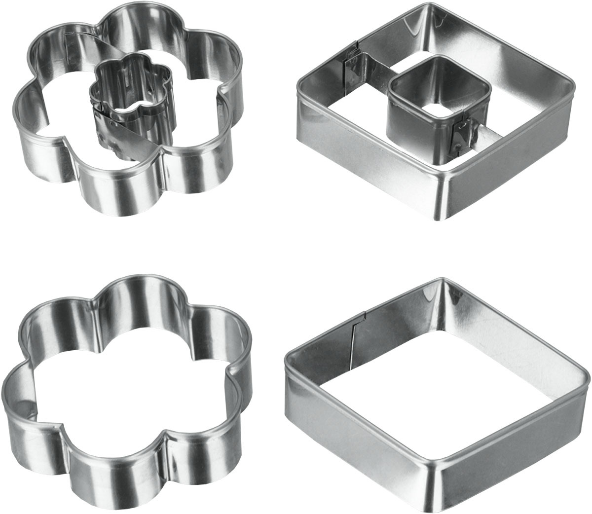Набор форм для выпечки Metaltex, 2 шт. 25.23.64 набор форм для выпечки metaltex 6 шт 25 91 24