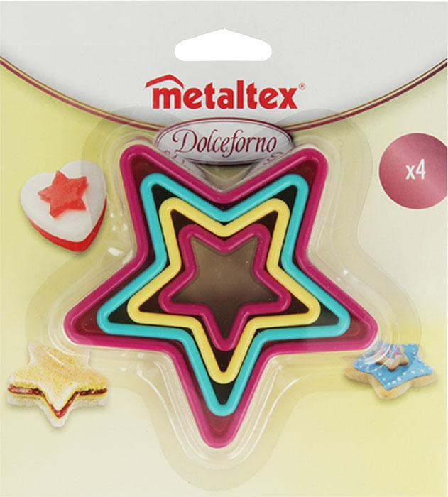 Набор форм для выпечки Metaltex Звездочка. 25.91.20 набор форм для выпечки metaltex 6 шт 25 91 24