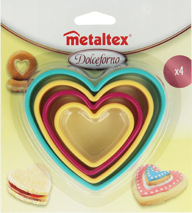 Набор форм для выпечки Metaltex Сердце. 25.91.22 набор форм для выпечки metaltex 6 шт 25 91 24