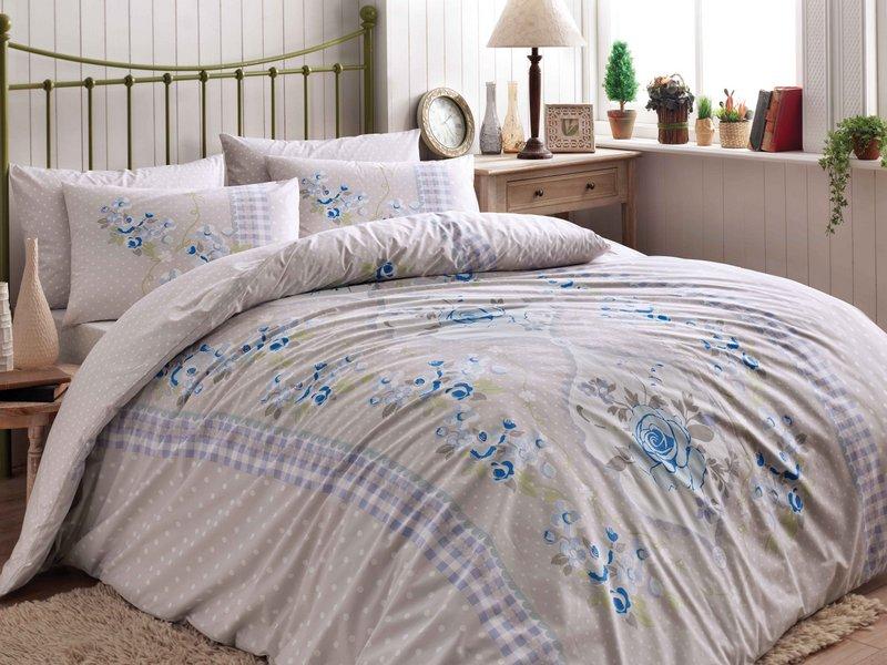 Комплект белья ТАС Paolo, 1,5-спальный, наволочки 50x70, цвет: бежевый. 4080-34525