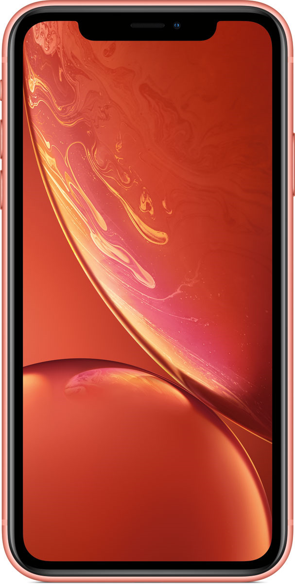 Смартфон Apple iPhone XR 128GB coral цена 2017