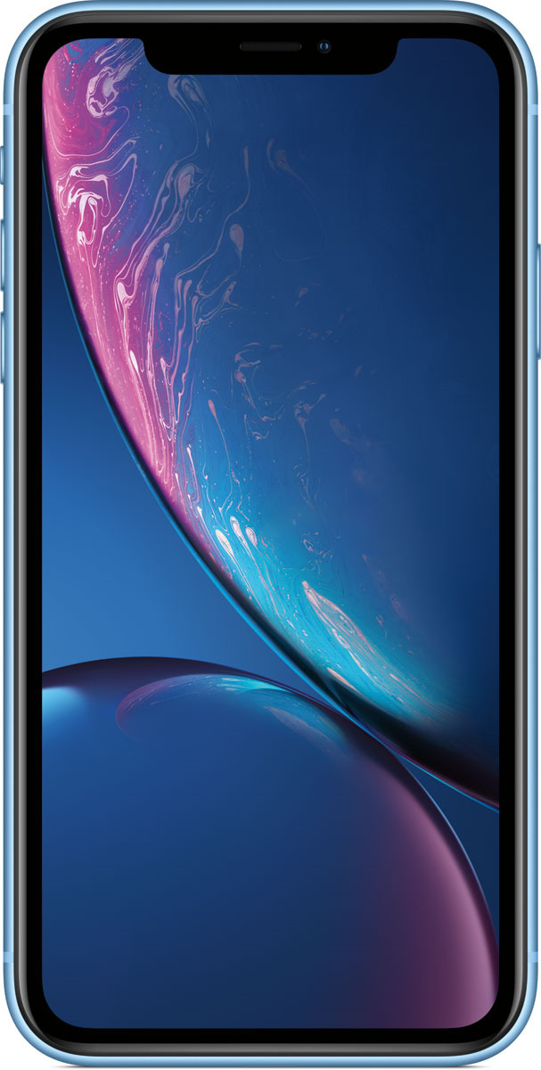 Смартфон Apple iPhone XR 128GB blue цена 2017