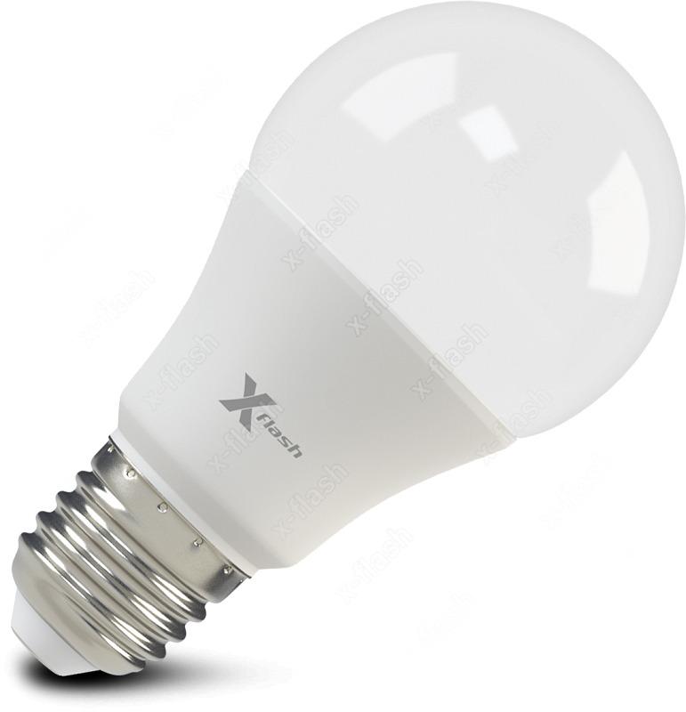 Лампа светодиодная X-Flash XF-E27-A60-10W-3000K-230V