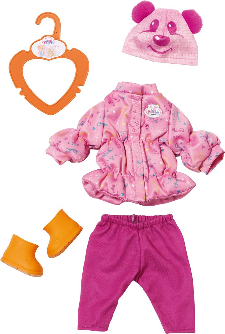 Набор теплой одежды для куклы Zapf Creation My Little Baby Born, 32 см