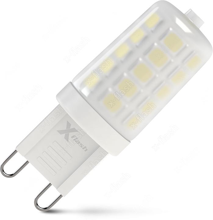 Лампочка X-Flash, Нейтральный свет 3,3 Вт, Светодиодная лампочка x flash 48045