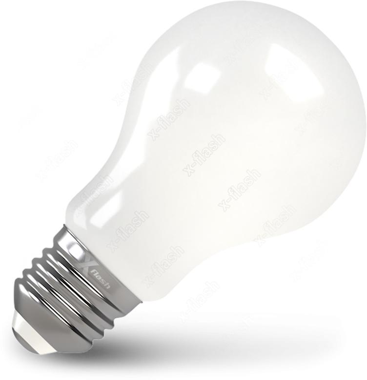 Лампа светодиодная X-Flash XF-E27-FLM-A60-8W-4000K-230V