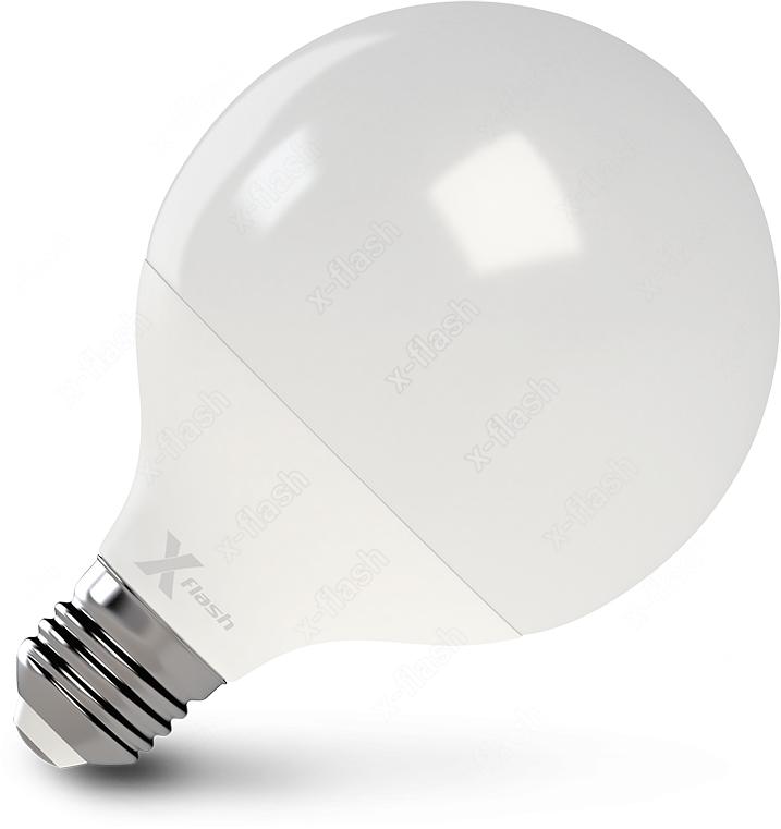 Лампа светодиодная X-Flash XF-E27-G95-15W-3000K-230V