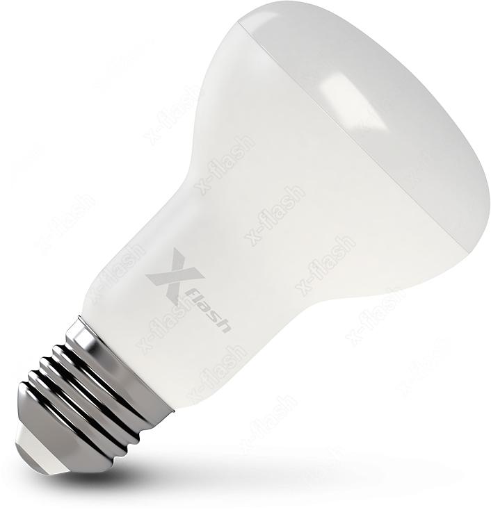 Лампа светодиодная X-Flash XF-E27-R63-10W-4000K-230V цена
