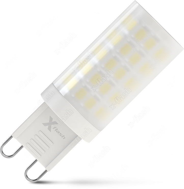 Лампа светодиодная X-Flash XF-G9-M64-4.5W-4000K-230V x flash лампа led x flash xf e14 fl сa35 4w 2700k 230v арт 48823